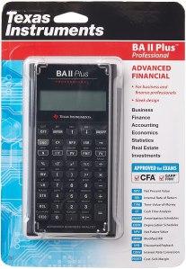 texas instruments ba ii plus professional financial calculator