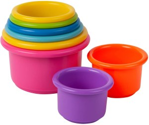 best stem toys, The First Years Stack Up Cup Toys