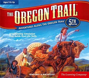 educational video games the learning company oregon trail