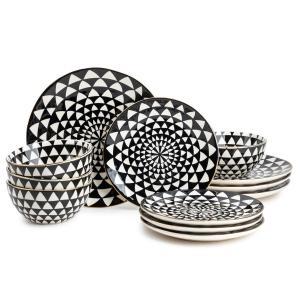 Thyme & Table 12-Piece Dinnerware Set