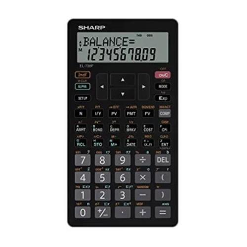 sharp el 10 digit financial calculator