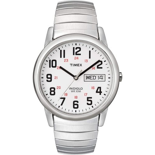 Timex Easy Reader Day-Date Expansion Watch