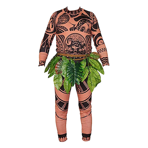 Moana Maui T Shirt/Pants Halloween Costume