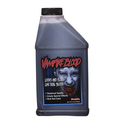 Kangaroo Halloween Vampire Fake Blood, 16 oz