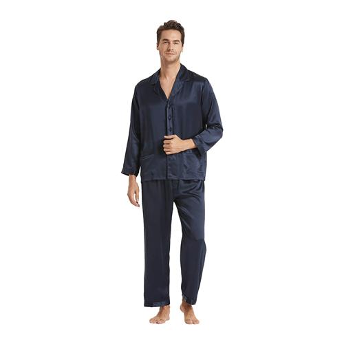 LilySilk Silk Pajamas for Men; best men's pajamas