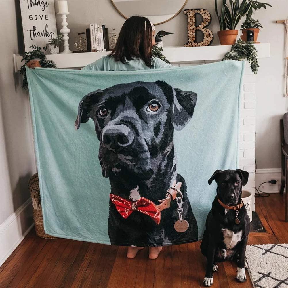 VEELU Custom Photo Blanket