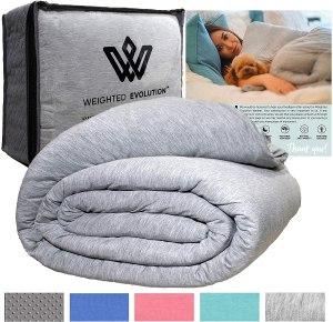 best weighted comforter evolution blanketbonus organic duvet