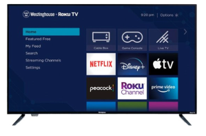 WestingHouse 43-inch LED 4K TV, best small tvs