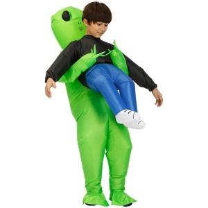 Stegosaurus Inflatable Alien Hold me Costume