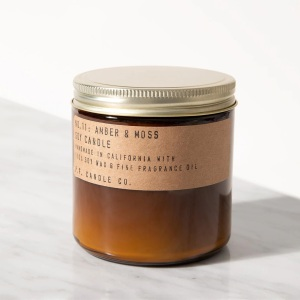 P.F. Candle Co. Amber & Moss Candle