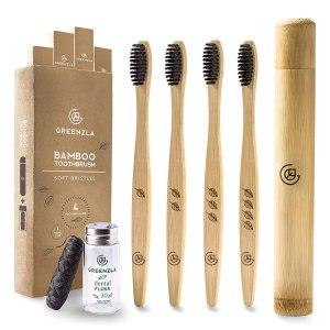best bamboo toothbrush greenzla