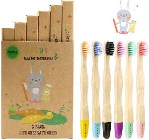 best bamboo toothbrush kids