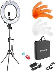 Neewer Dimmable LED Ring Light, best ring light overall