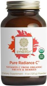 Pure Radiance vitamin c powder, vitamin c powders