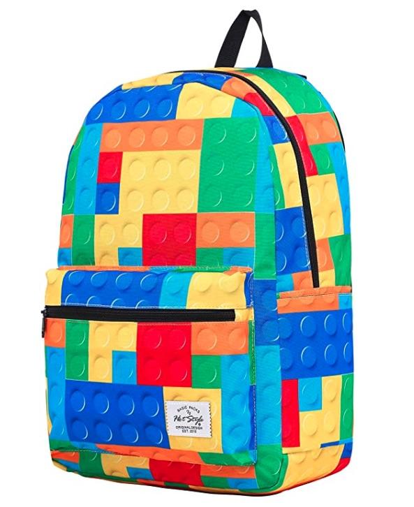 blocks elementary backpack, back to school shopping