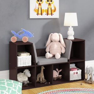 best bookshelf reading nook wayfair