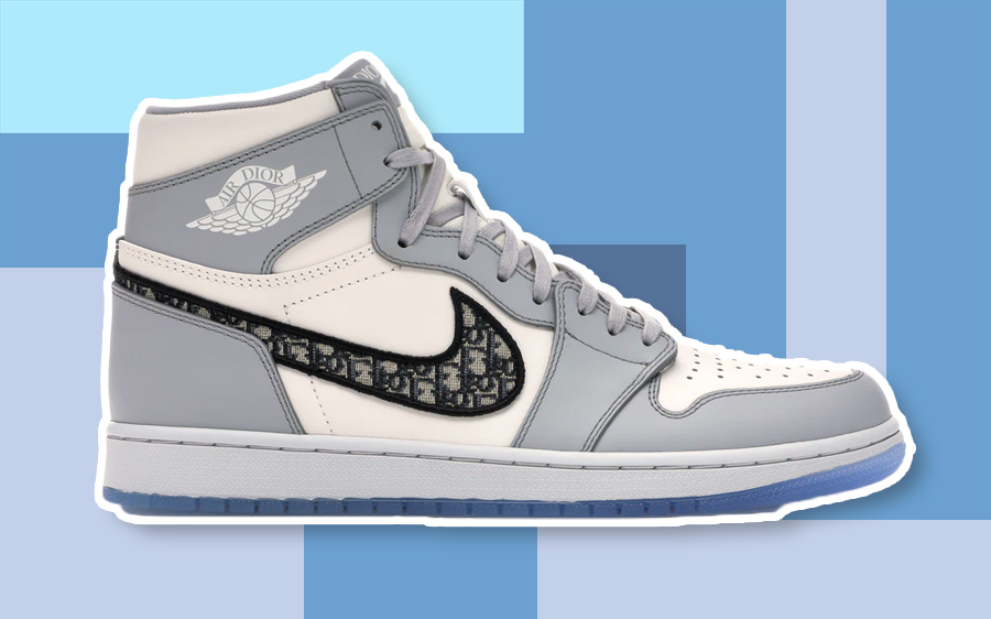 christian dior air jordan sneakers