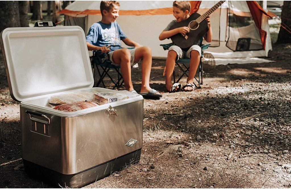 coleman steel belted coolers