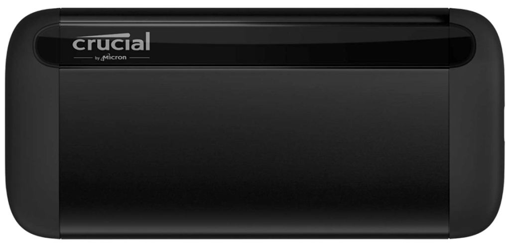 Crucial 1TB X8 Portable SSD external hard drive