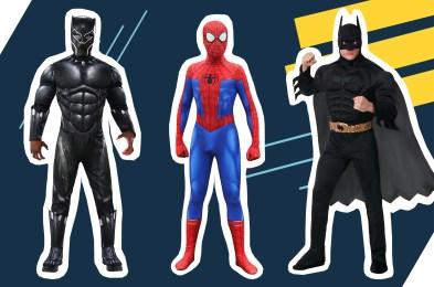 mens superhero halloween costumes