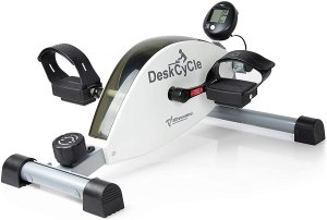 deskcycle under desk cycling, desk exercise equipment, how to workout while working