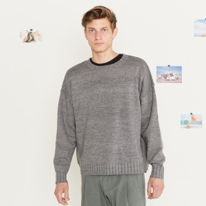 Entireworld Recycled Cotton Crew Sweater