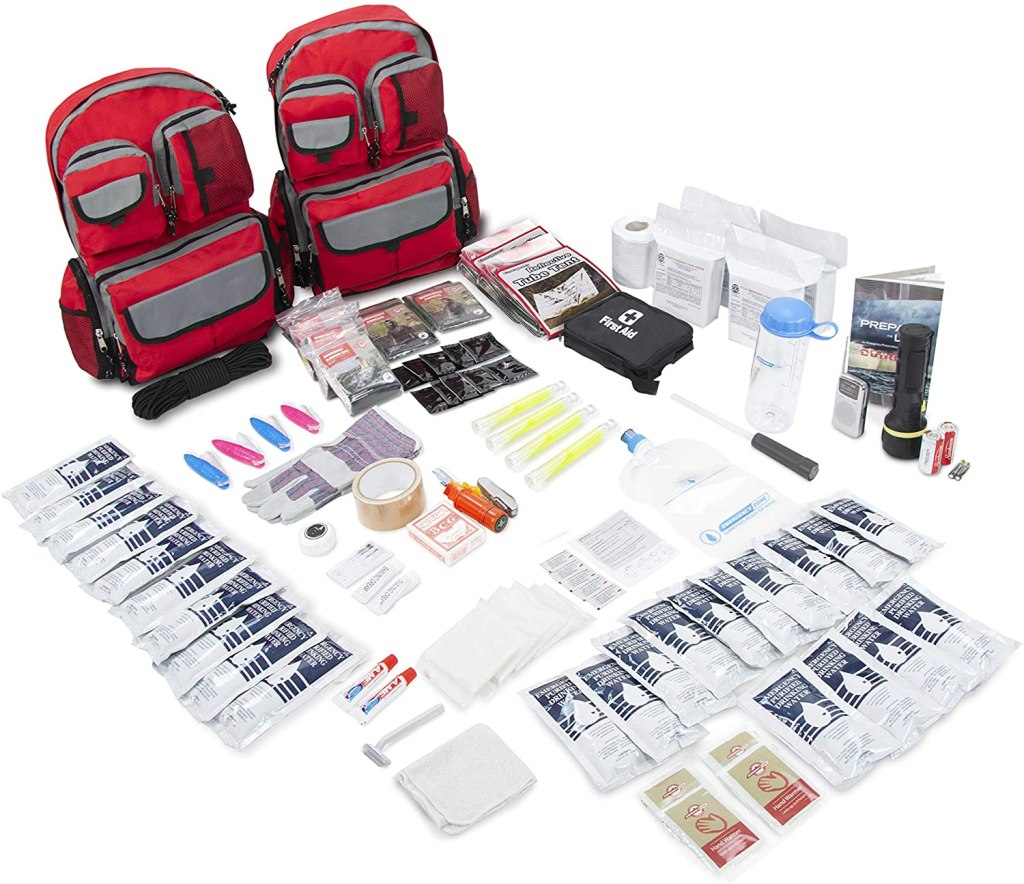Emergency Zone 4-Person Family Prep, emergency prep kit