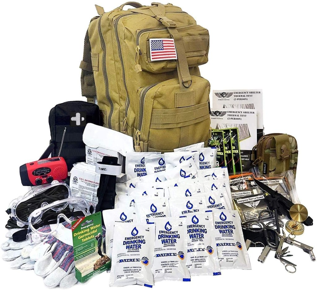 Everlit 72-Hour Bug Out Bag, emergency kit