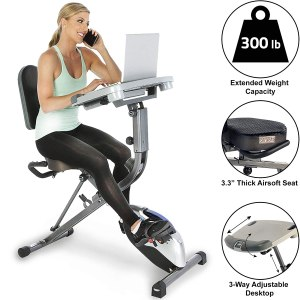 exerpeutic exerWork Fully adjustable desk, desk exercise equipment