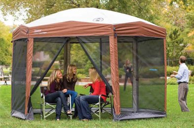 upgrade your fall camping trip with a canopy tent