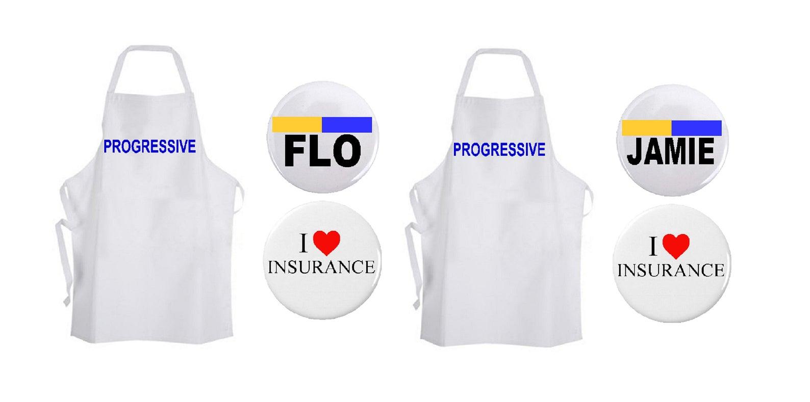Flo and Jamie Progressive Costumes
