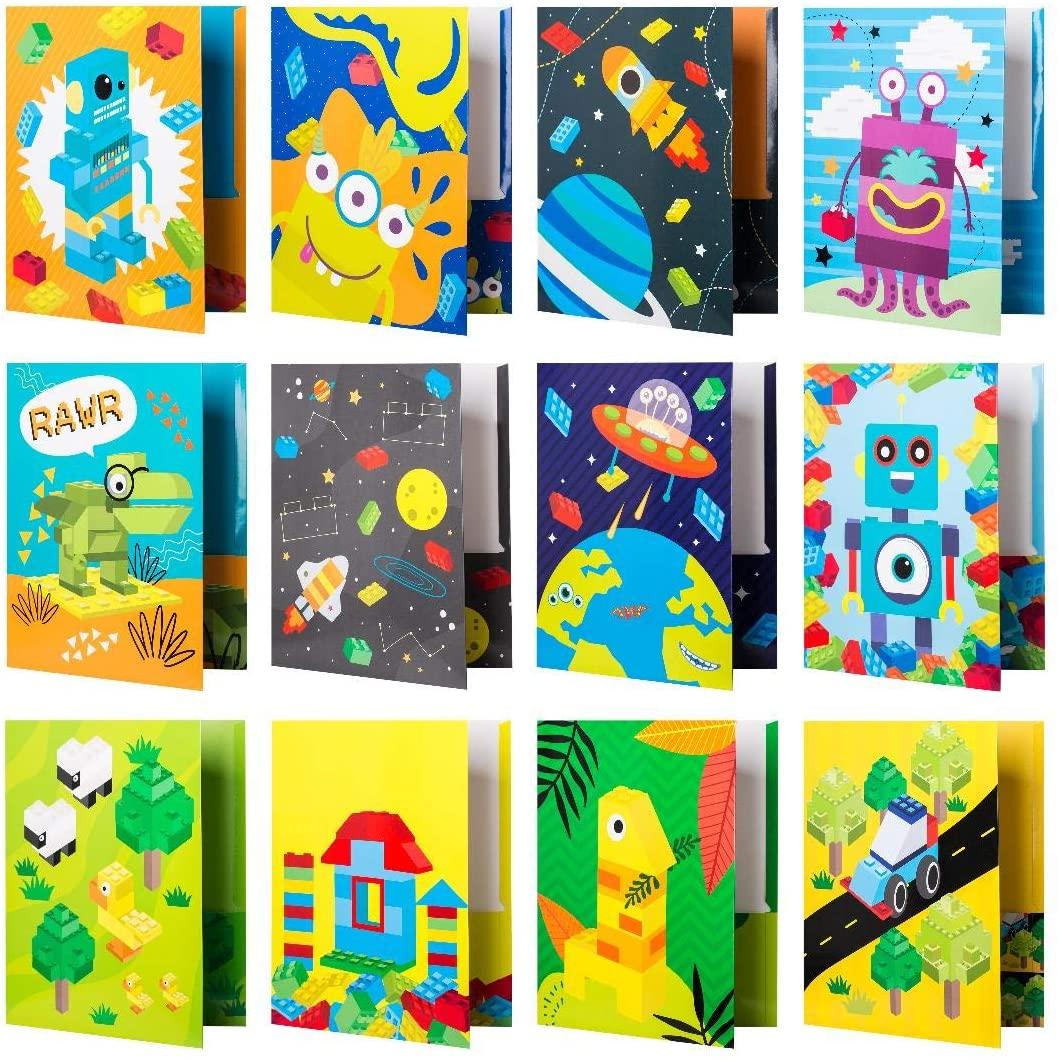 modern bethel kids folders, back to school shopping