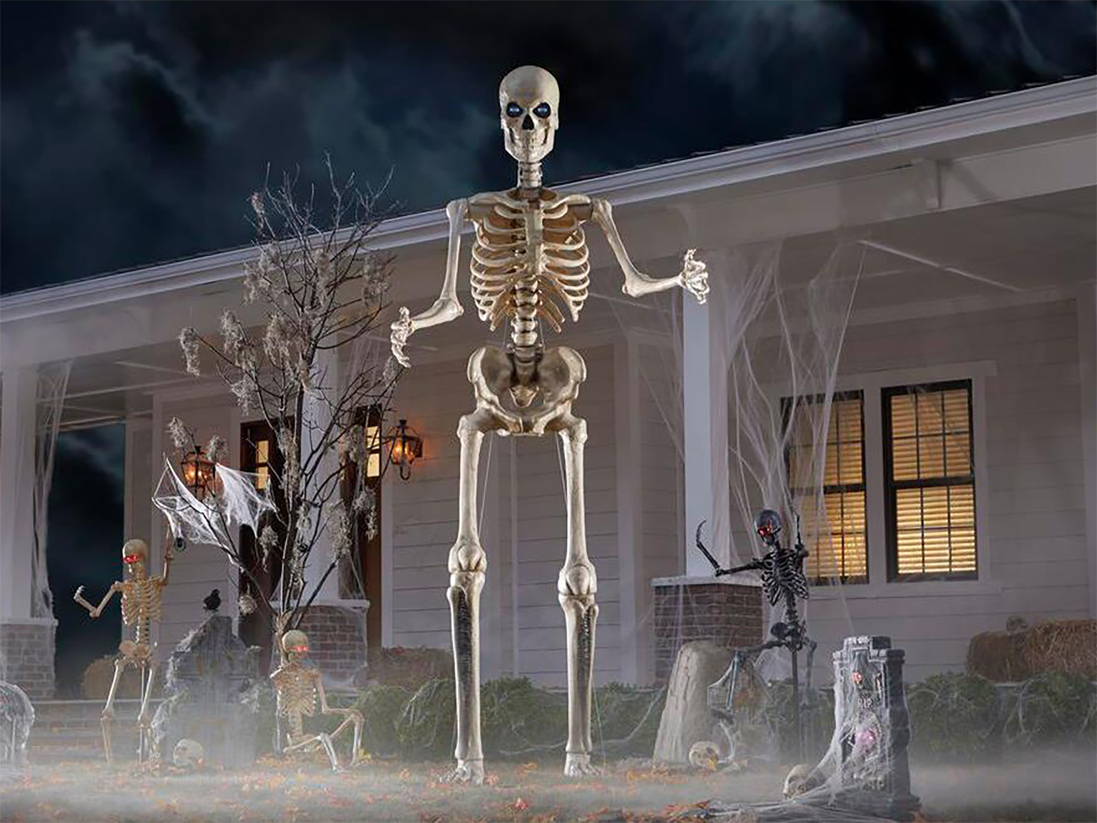 Can You Still Buy The 12 Foot Tall Home Depot Skeleton Updated Spy