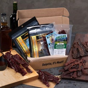 Booze-Infused Jerky Mancrate