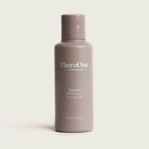 TheraOne Soothe CBD Massage Oil