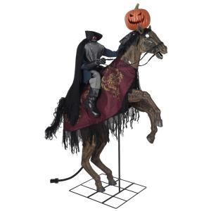 headless horsemen halloween decoration, scary halloween decorations