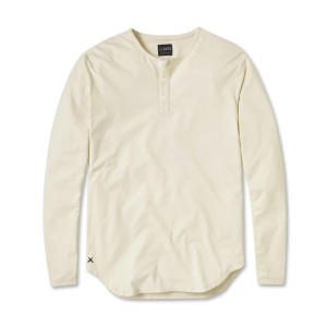 L/S Henley Elongated