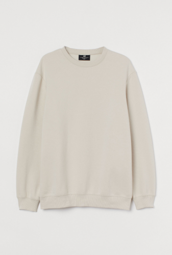 H&M Relaxed Fit Crewneck Sweatshirt