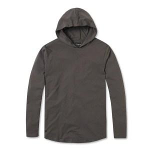 L/S Hooded Curve-Hem