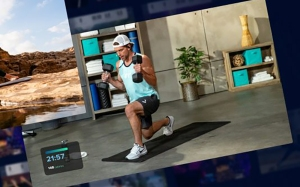 iFit fitness app, smart home gyms
