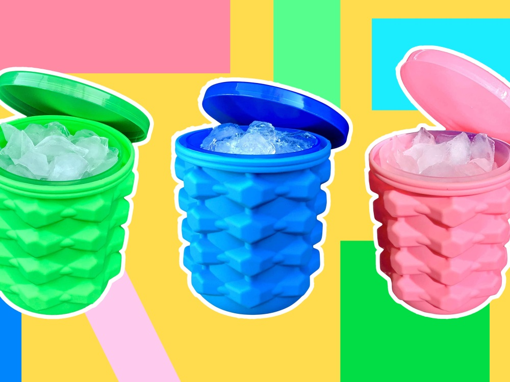Flat Ice Trays Are the Worst — Check Out This Ice Bucket That'll Change the Way You Chill Drinks