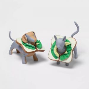 avocado toast dog costume