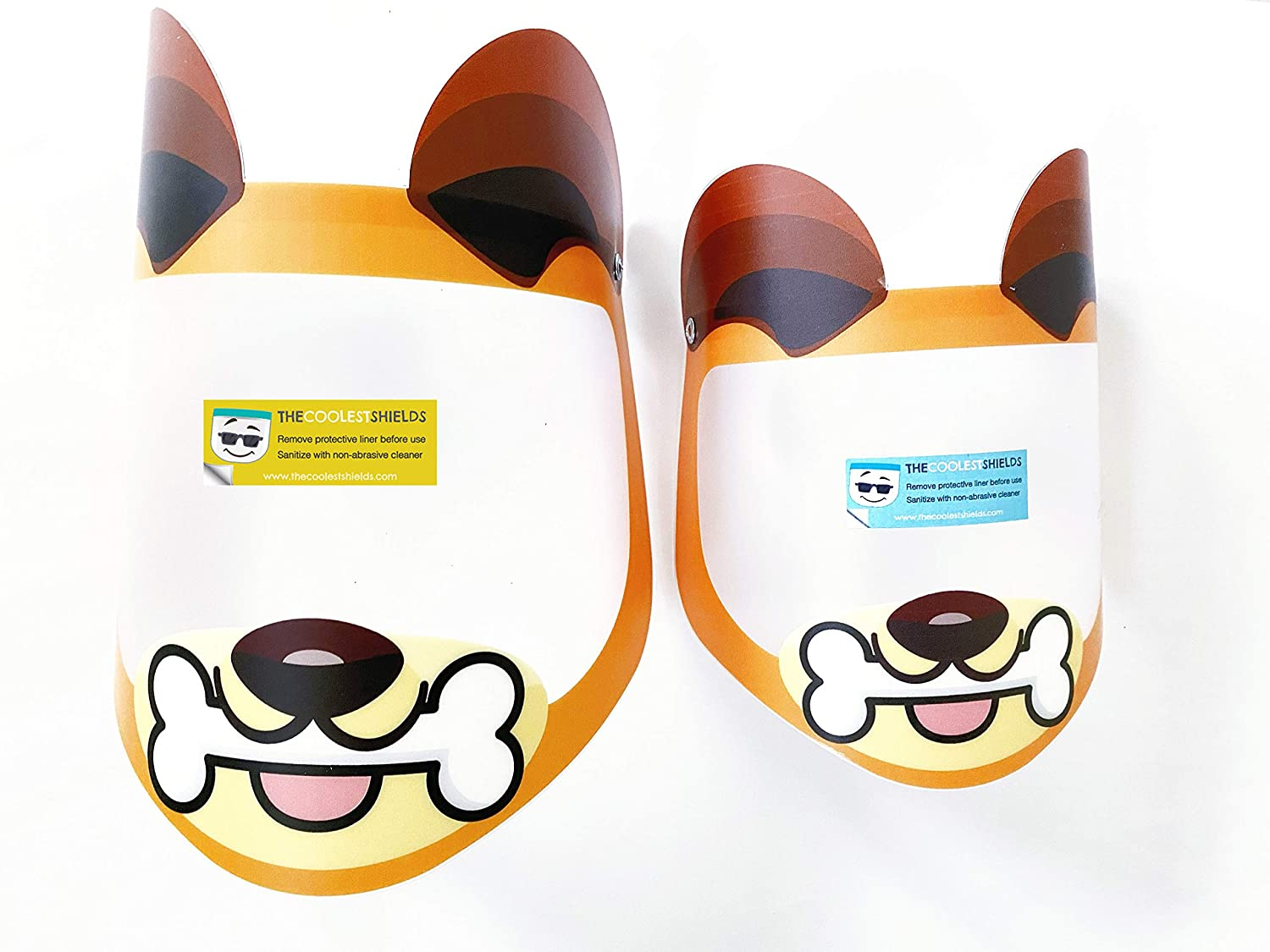 face shields for kids, back to school shopping