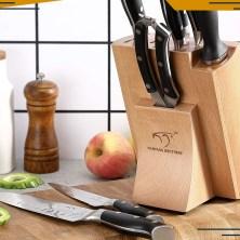 Nanfang Brothers Kitchen Damascus Knife Set