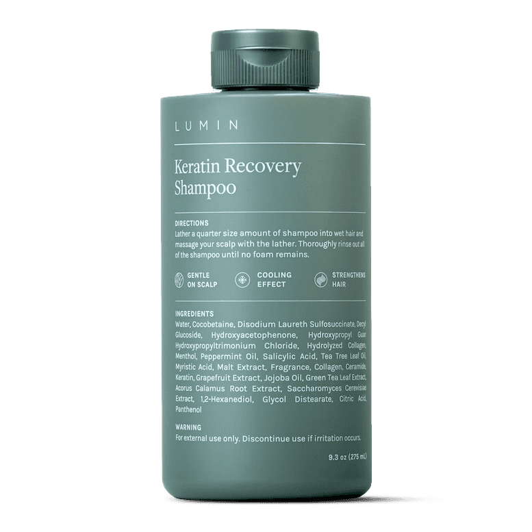 lumin keratin hair loss shampoo