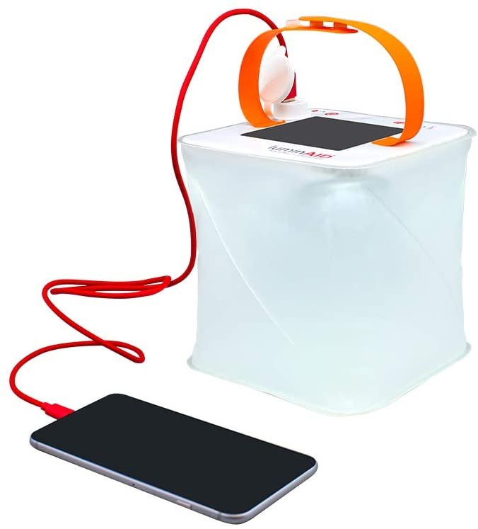 luminaid portable solar charger