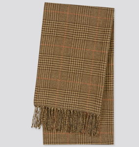 Uniqlo HEATTECH PATTERNED Men's Scarf