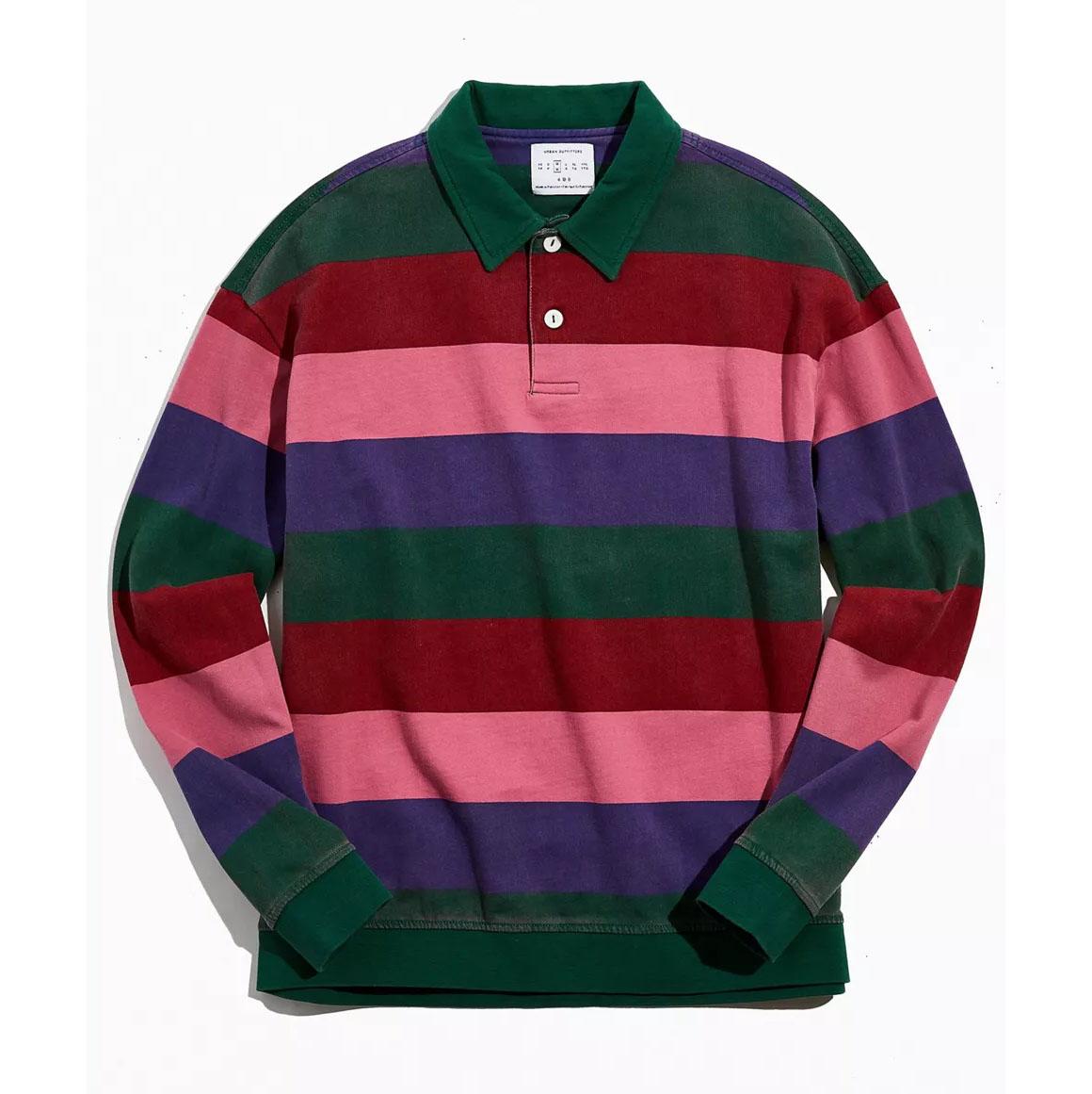 UO Club Heavyweight Stripe Rugby Shirt