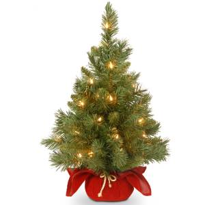 pre-lit christmas trees national tree