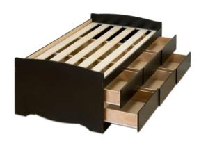 best storage beds prepak